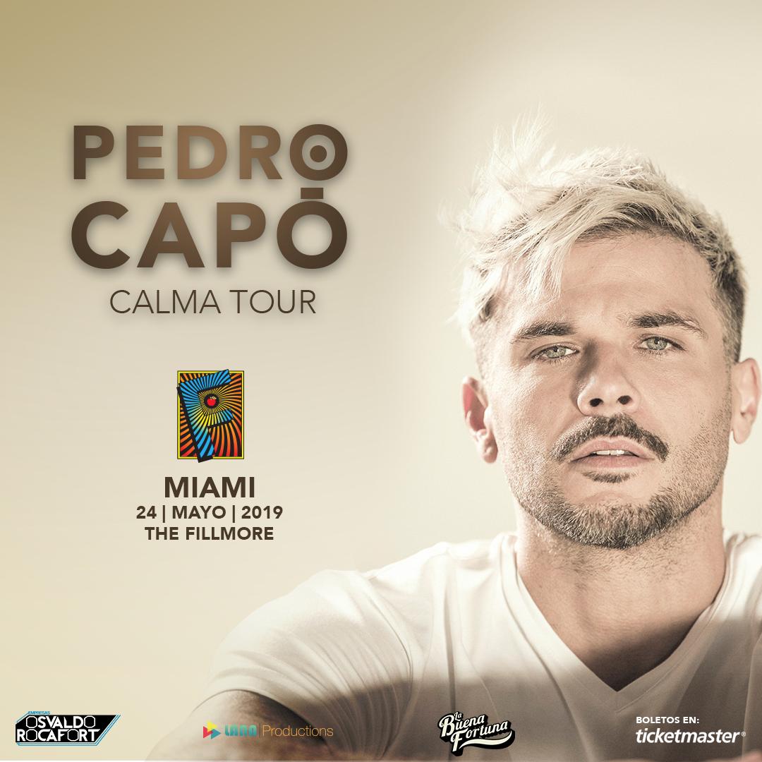 Pedro Capó - Fillmore Miami