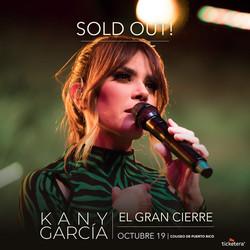 Kany García El Gran Cierre SOLD OUT