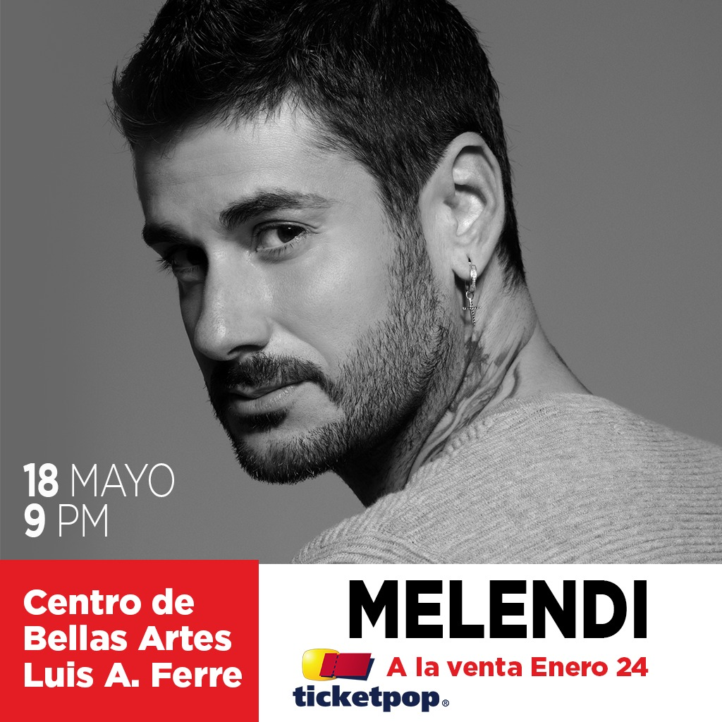 Melendi - 18 de mayo - CBA