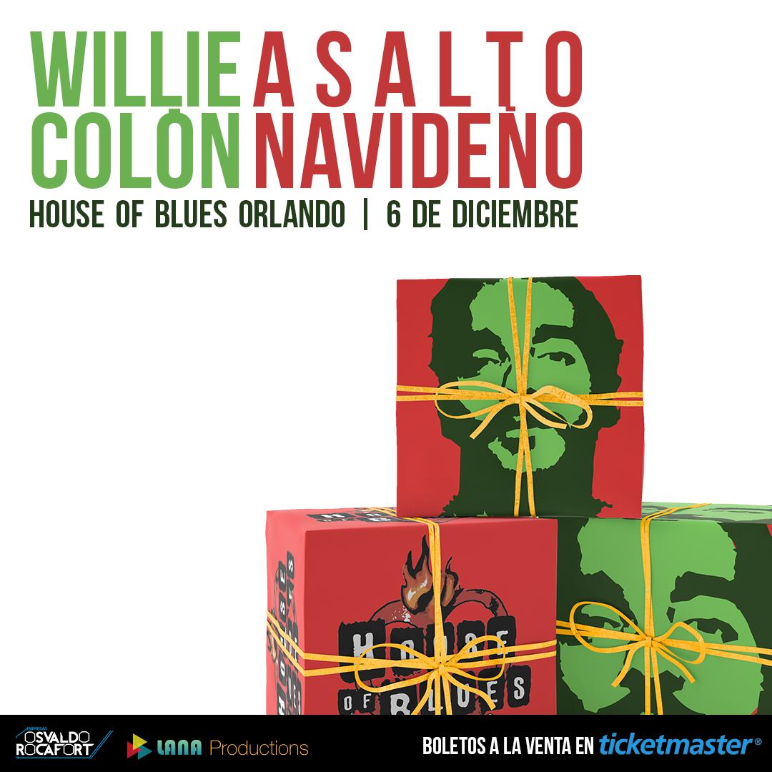 Willie Colón: Asalto Navideño