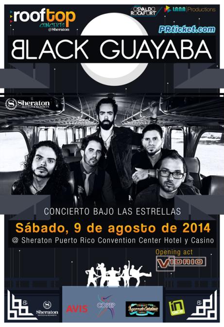 Black Guayaba bajo las estrellas