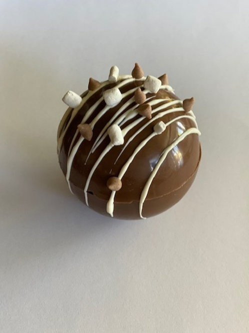 Peanut Butter Cup Hot Chocolate Bomb