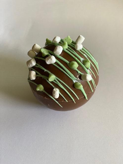 Mint Truffle Hot Chocolate Bomb