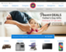 Rent-A-Center Home Page