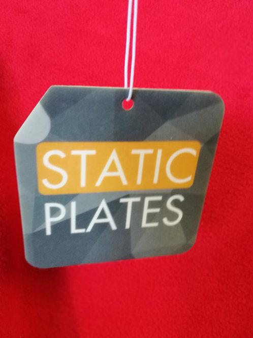 Static plate air freshner