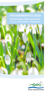 Frühjahrsputz der Stadt Königswinter 2020