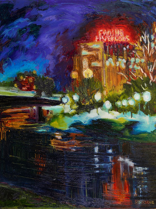 Five Roses by Night | Sandra Boorne Montreal