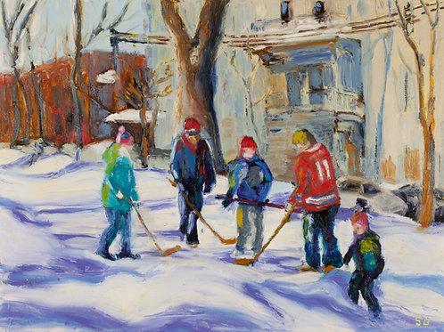 Park Hockey | Sandra Boorne