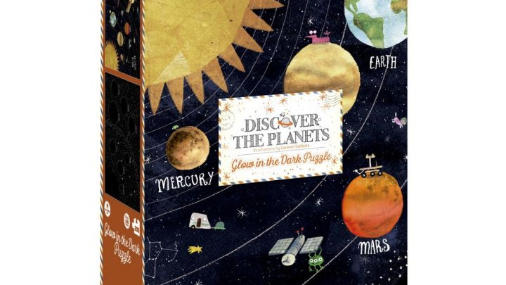 Discover the Planets - 200er Puzzle