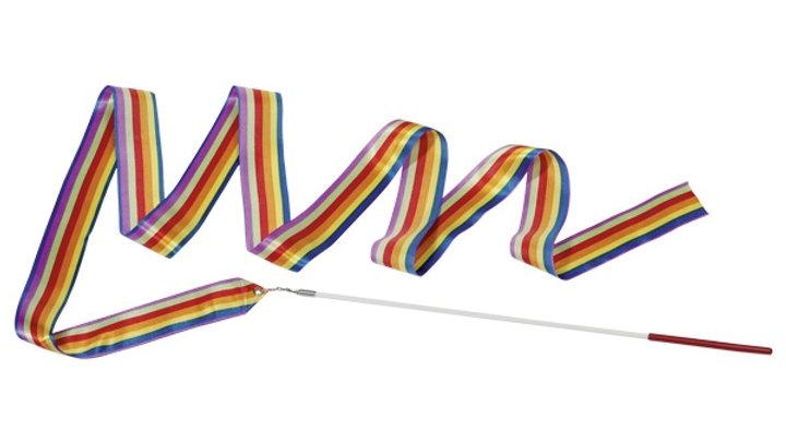 Regenbogen-Gymnastikband