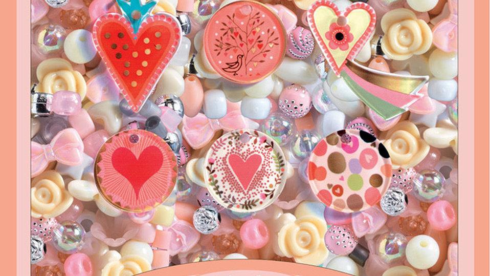 Perlenset Herzen