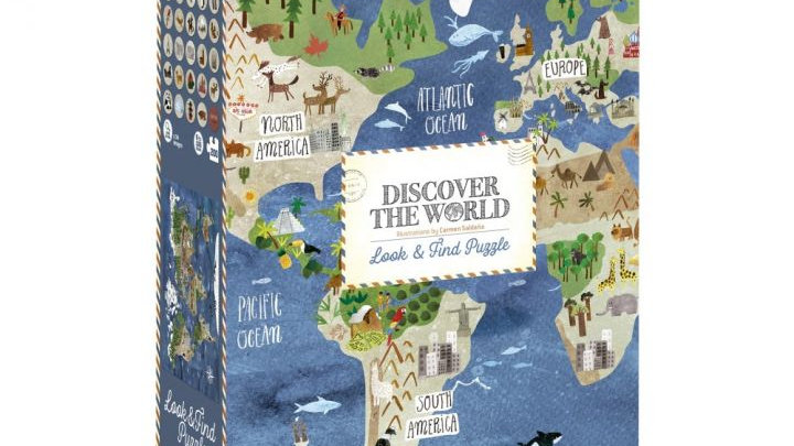 Discover the World - 200er Puzzle