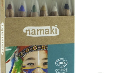 Schminkstifte Namaki Bio Set blau