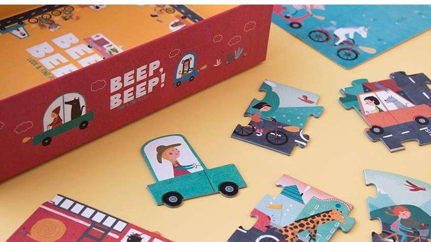 Beep Beep Auto Puzzle