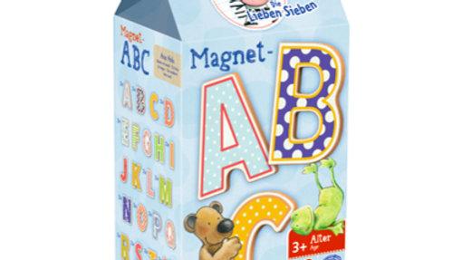 ABC Magnete-- Die lieben Sieben