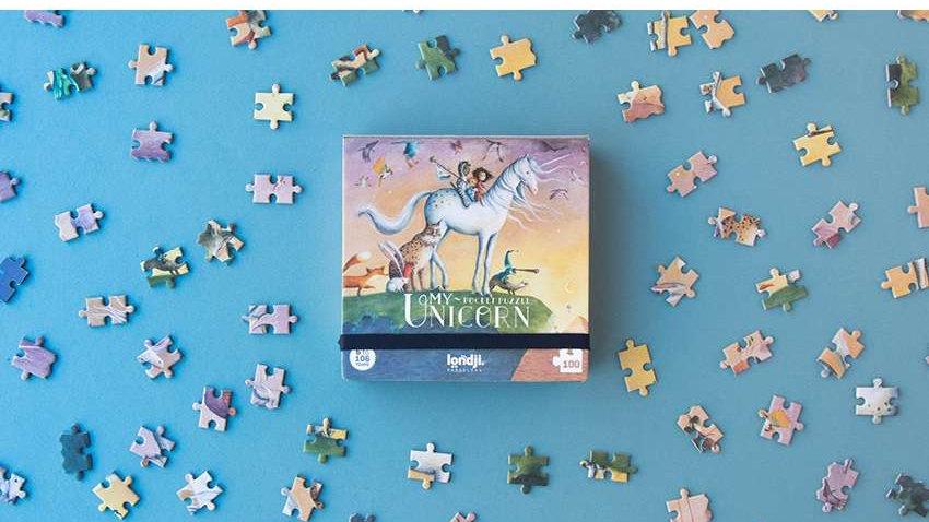 Pocketpuzzle Einhorn
