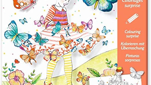 Malbilder Lady Butterfly