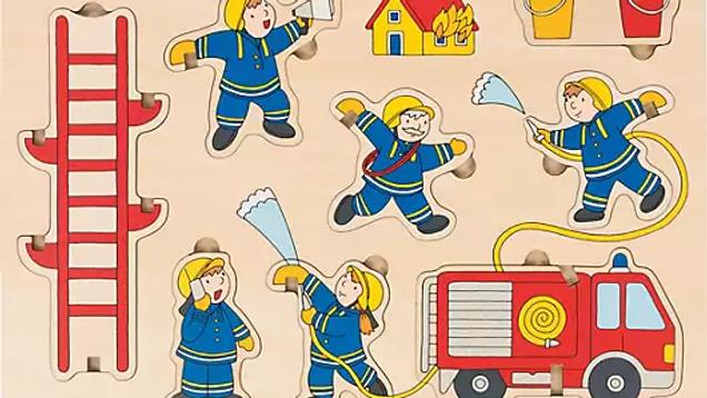 Stapelpuzzle Feuerwehr