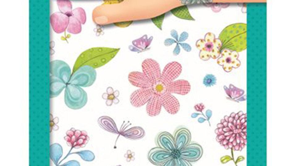 Tattoos Blumen glitzernd