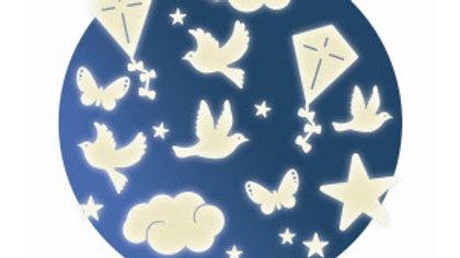 Sterne Schmetterlinge