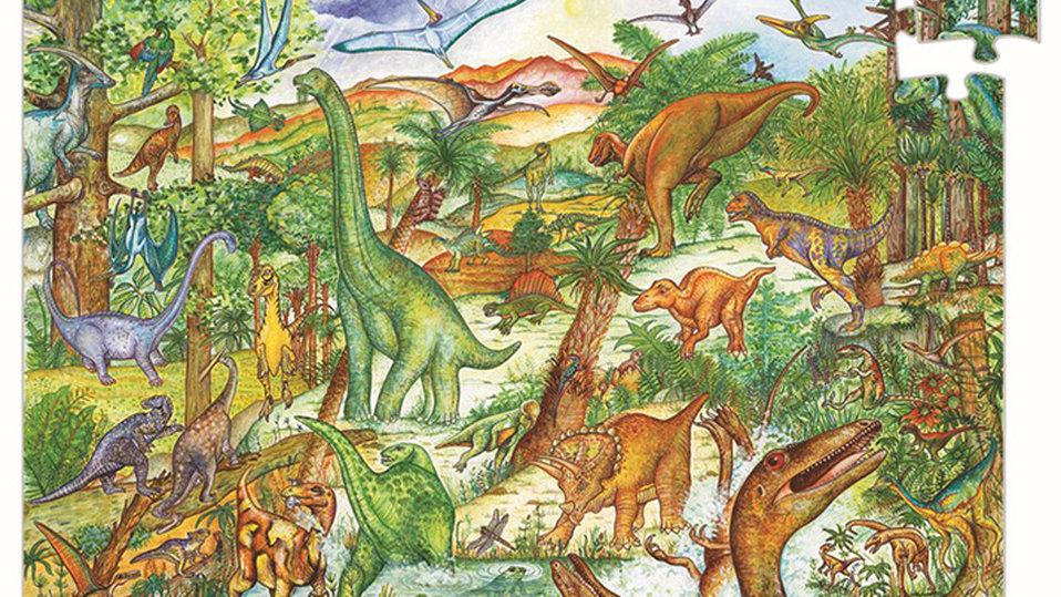 Entdecker - Puzzle Dinosaurier