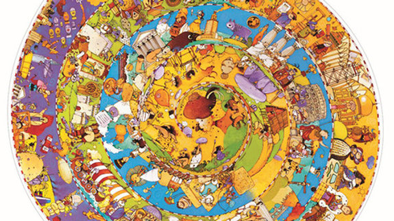 Puzzle Geschichte 350