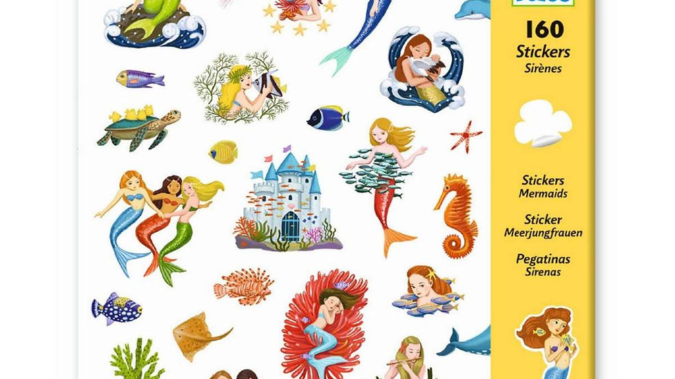 Sticker Meerjungfrau
