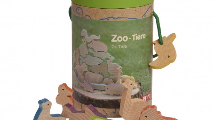 Holztiere Zoo