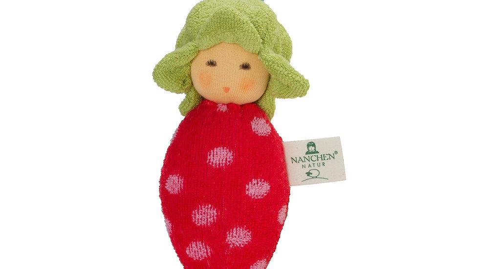 Baby Rassel Erdbeere
