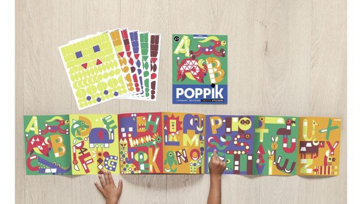 ABC Stickerposter