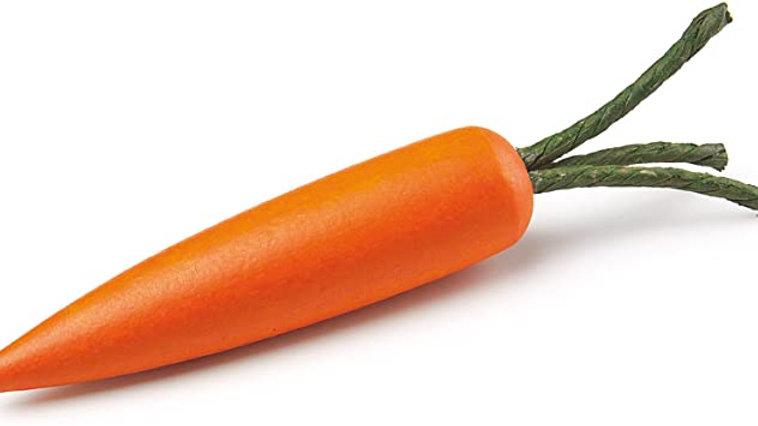 Karotte aus Holz