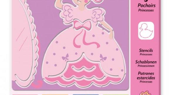 Schablonen Prinzessin