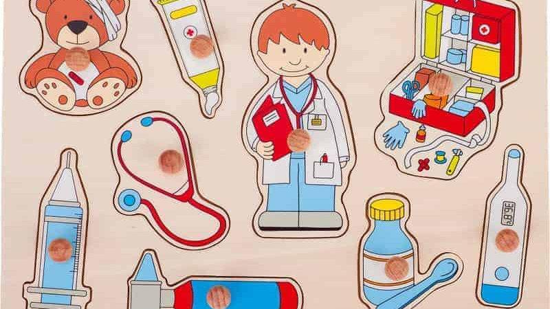 Setzpuzzle Arzt