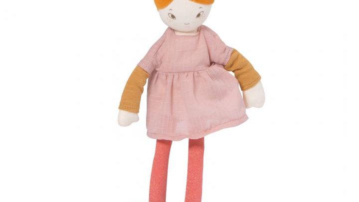 Kleine Puppe rote Haare