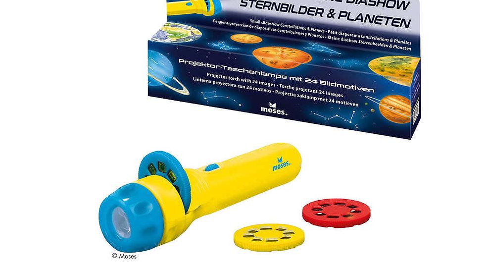 Projektor-Taschenlampe Planeten