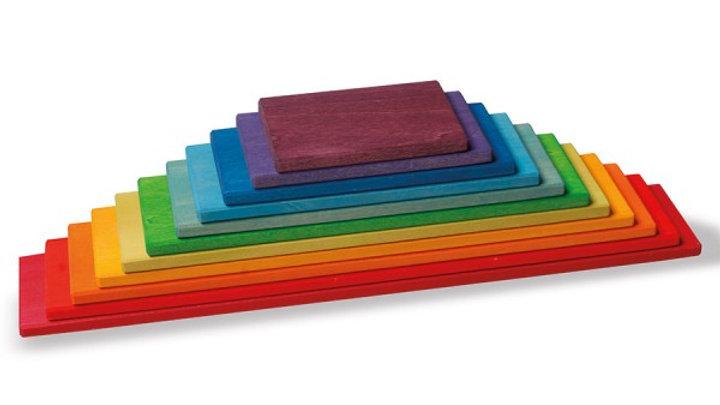 Bauplatten Regenbogen