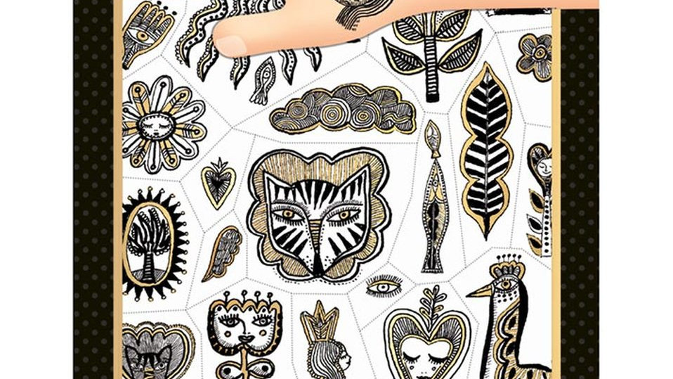 Tattoos Gold Chic