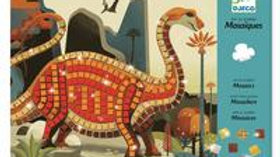 Mosaik kleben Dinosaurier