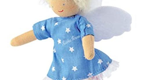 Schutzengel blaues Kleid