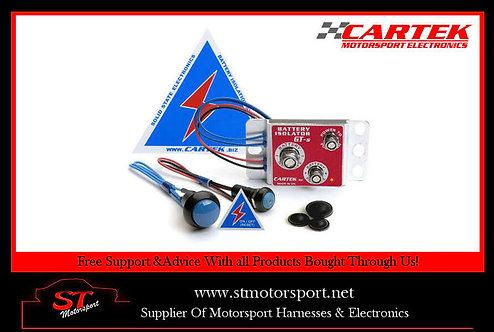 Cartek Battery Isolator rally/race GT Kit