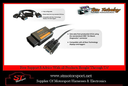 Race Technology Universal OBD 2 System