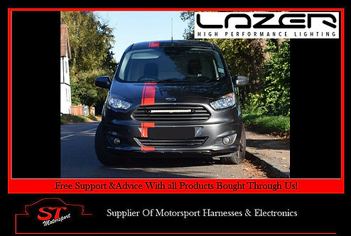 Lazer Lights Ford Transit Courier 2014+ Grille Kit With Linear-18 Elite Lamp