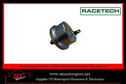 Racetech Electric Oil Pressure Sender 52mm Gauge M10X1.0