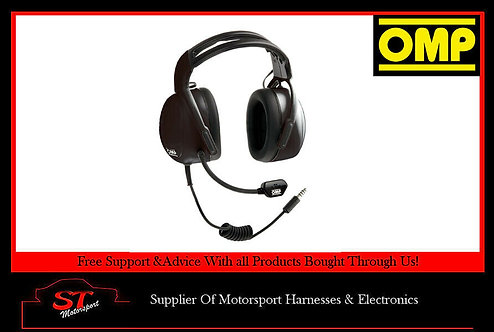OMP B-Race Intercom Headset Headphones JA/850E For OMP B - Race JA/874 Control