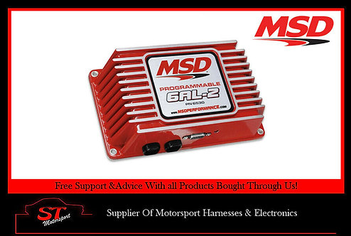 MSD 6530 Ignition Control Programmable 6AL-2