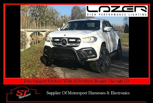 Lazer Lights Mercedes X- Class 2017+ Grille Kit With Triple-R 750 Light/Lamps