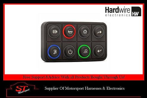 Hardwire Electronics 8-Key CAN-bus Keypad