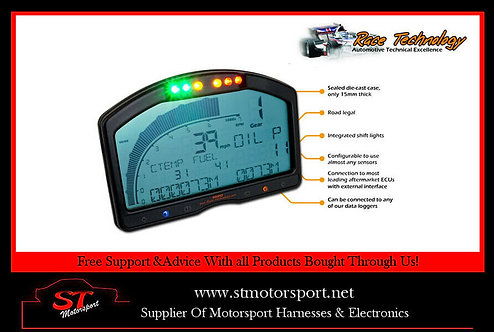 Race Technology Dash 2 Display Dashboard/Trip Counter/Odometer - Motorsport