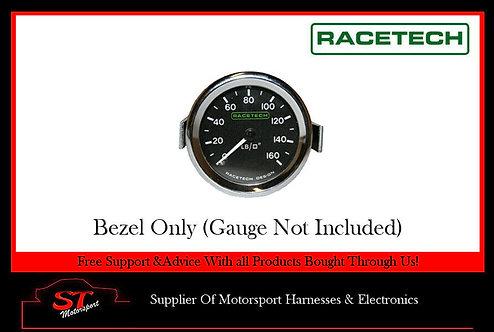 Racetech Gauge Chrome Bezel For 52mm Gauges