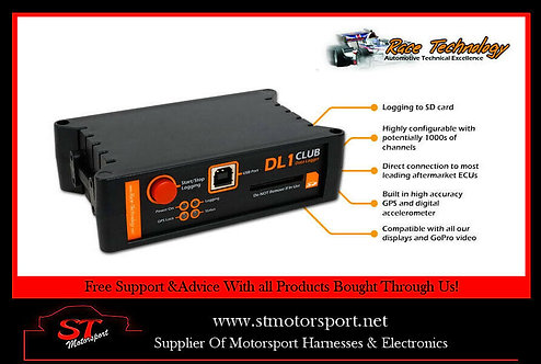 Race Technology DL1 Club data logger (Dash2,Stack,AIM) Motorsport/Rally/Race
